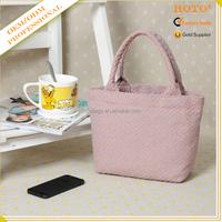 Elegant fashionable mini blank handbag tote bag