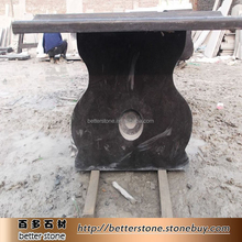 China blue limestone table round limestone table for sale