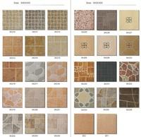 China Foshan cheap matte finsh glazed tile, non slip tile, discontinued ceramic floor tile lowes floor tiles for bathrooms