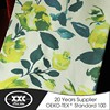 Excellent quality high-end grade window curtain print linen fabric
