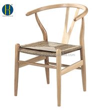 HY3017 Promotional Restaurant Chair /Rattan ASH Wood Dining Armchair/Chinese Dining Chair