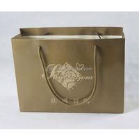 manual paper bag making machine/ kraft paper bag for bread/ food bag