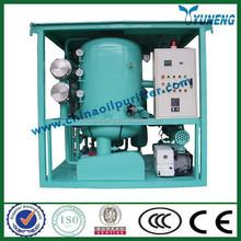 CHINA OIL PURIFIER High Vacuum Transformer Oil Treatment Plants