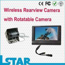 7.0inch CCD waterproof wireless backup camera systems