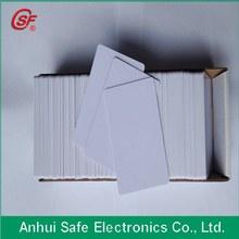 de inyección de tinta de tarjetas RFID pvc
