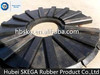china manufacture law abrasion value mill parts liner