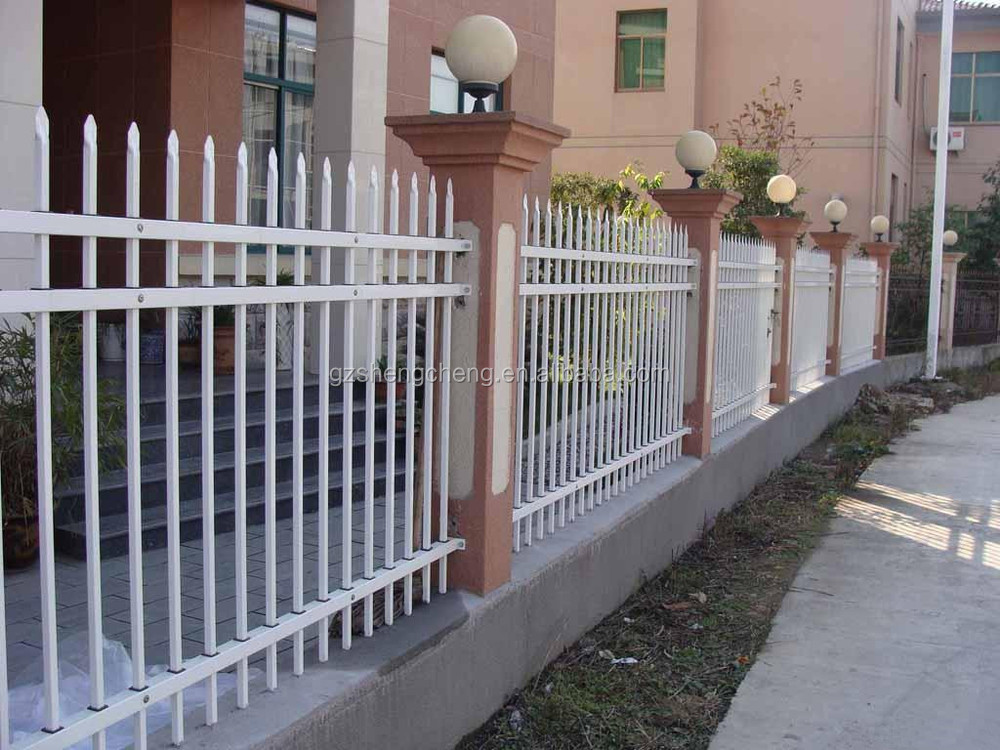 Used Garden Metal Pole Fence Decorative Iron Pipe Fence Buy Iron Pipe Fence Iron Pipe Fence