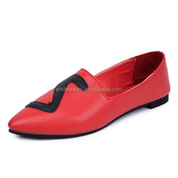 2015 new style ladies fashion shoes footwear woman casual ballet shoe