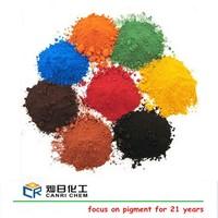 iron oxide red yellow black green pigments for asphalt/ceramic/brick