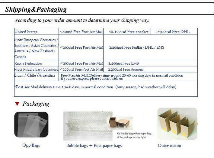 Shipping & Packaging