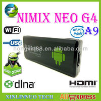 MINIX NEO G4 Android 4.0 Dual Core RK3066 DDR3 1GB RAM / 8GB ROM Google TV Box Mini PC Dongle Wi-Fi