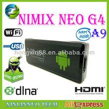 MINIX NEO G4 Android 4.0 Dual Core RK3066 DDR3 1GB RAM / 8GB ROM Google TV Box Mini PC Dongle Wi-Fi