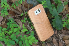 Nature Real Wood for Galaxy S6 Edge Plus Case, Hard Back Protective Cover Hand-made Wooden Cover Case for Samsung Galaxy S6 Edge