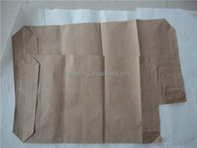 High weight capacity valve paper bag for fertilizer packing