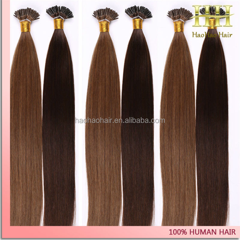 Virgin Indian I Tip Hair Extensions 40