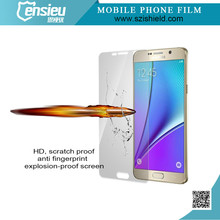 9H tempered glass mobile screen protectors/guard/cover/film for Samsung Note5