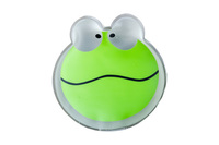 small animal shape PVC instant reusable hot pack or hand warmer with coin