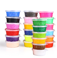 non -toxic 3D educational yoys foam clay set for sale