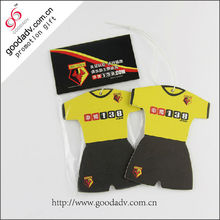 new arrive promotional item High quality Football clothes car air freshener