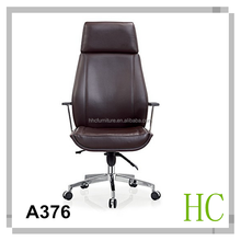 HC-A376 2015 high back leather office chair swivel
