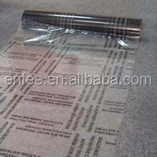 PE Plastic Heavy Duty Perforated Dealer Must Remove Carpet Cover