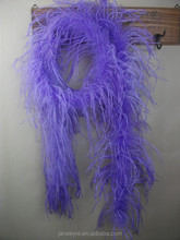 Wholesale Feather Dyed Ostrich Feather Boa For Decorate
