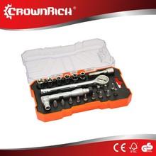 21pcs bicycle tyre repair tools/bit set