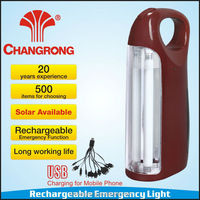 CR-1067A Solar rechargeable portable lantern with mobile phone charging