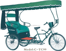 Three wheelers/Rickshaws/Tricycle for passagers/pedicab /Chinese old style tricycle