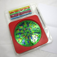 6 templates Drawing Spirograph