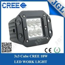 "JGL Factory Wholesales Best Price Mini Led Work Lamp 18W Mounted 3"" CAR HEAD LAMP"
