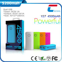 New arrival mobile phone power bank with 4000mah battery
