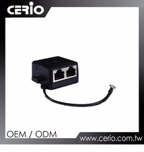 Cerio Gigabit PoE ( Splitter / Injector ) Adapter with Grounding Cable