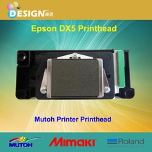 Top sales for e pson print head dx5 eco solvent green edge mutoh VJ1204 head mutoh printer