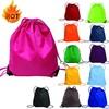 Factory customized cheap drawstring bag, drawstring backpack