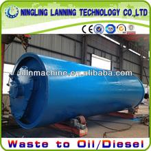 environment friendly new 10 tons WASTE plastic pyrolysis plant