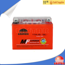 High quality Acid-free Gel type 12V 3AH Motorcycle Battery
