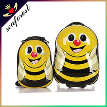 cartoon characters luggage,bee shaped kids luggage,children cartoon luggage