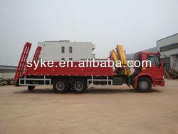 China best brand SINOTRUK chassis XCMG crane truck mounted crane/boom truck
