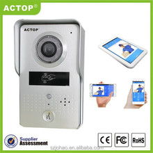 China supplier Home smart support ID card unlocking new ip Video Door Intercom Wifi