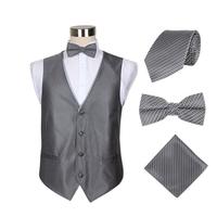 The new 2015 men vest Formal business waistcoat fashion gentleman waistcoat suits set