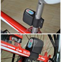 HC Anti-theft Best Quality Anti-theft Bicycle Password Security Electronic Remote Wireless Bike Alarm Lock
