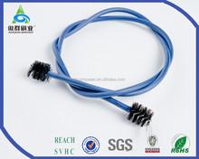 Aquarium Nylon White Water Filter Pipe Air Tube Hose Pipe Brush 106.5cm Length