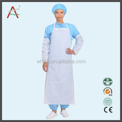 Waterproof Oilproof Acidproof Washable Oxford Cloth/PVC Transparent Apron