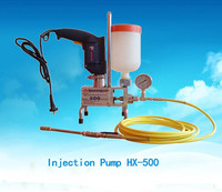High Pressure concrete crack fill pump tube grout pump