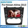 ZESTECH China Manufacturer 2 Din Touch screen Car dvd gps player for Nissan Altima Car dvd gps player radio 2013-2014
