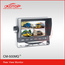 5inch rearview parking system with high definition, PAL& NTSC auto-switching, multi-language from China