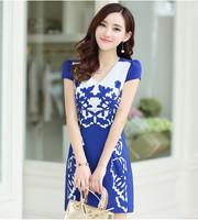 JPSKIRT1504838 Latest Chinese Classical Style Chiffon Dress
