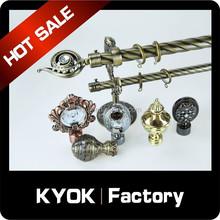 KYOK curtain rod accessories suppliers ,threaded rod accessories wholesale , curtain rod factory in foshan