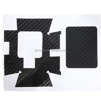 New Black Carbon Fiber Skin Sticker for GoPro HD Hero 3 Sports Camera Decal Case Housing Wrap